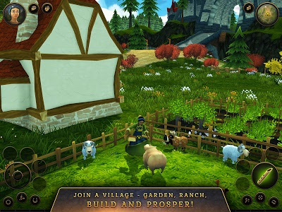screenshot of 3D MMO Villagers & Heroes version 4.35.5 (r52440)