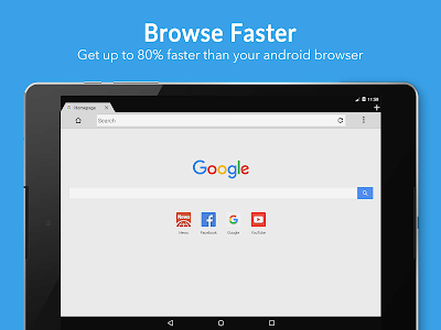 screenshot of Browser 4G version 24.9.2