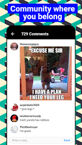 screenshot of 9GAG: Funny gifs, pics, fresh memes & viral videos version 6.78.01r21374-bbe3530860