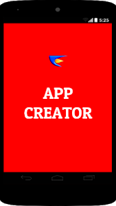 screenshot of APP CREATOR version 2.1