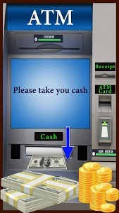 screenshot of ATM Learning Simulator Pro for Money & Credit Card version 1.8