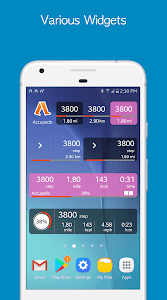 screenshot of Accupedo Pedometer - Step Counter version 8.7.7.G