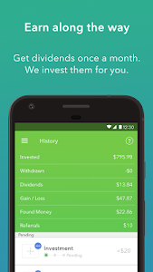 screenshot of Acorns - Invest Spare Change version 1.7.4