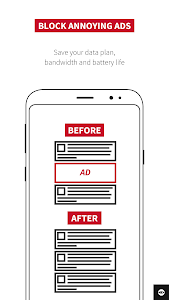 screenshot of Adblock Plus for Samsung Internet - Browse safe. version 1.2.0