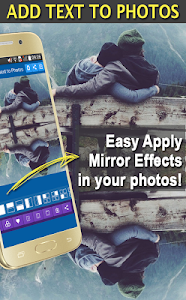 screenshot of Add Text to Photo App (2017) version 14.0