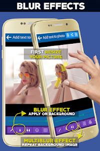 screenshot of Add Text to Photo App (2018) version 20.0