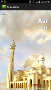 screenshot of Al-Moazin Lite (Prayer Times) version 3.0.819