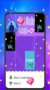 screenshot of Alan Walker Piano Solo version 1.8