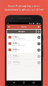 screenshot of Alarmy (Sleep If U Can)- alarm version 19.8