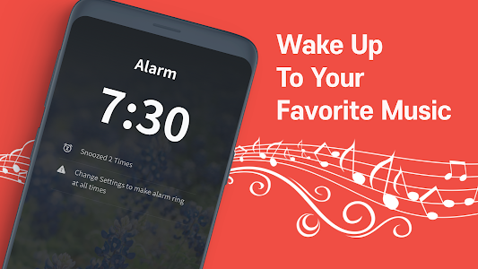 screenshot of Alarmy- Alarm Clock with Missions & Loud Ringtones version Varies with device