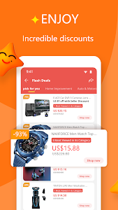 screenshot of AliExpress - Smarter Shopping, Better Living version 8.10.1