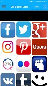 screenshot of All Social Network App (All in One) version 5.4.9