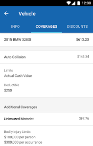 screenshot of Allstate Mobile version 14.1.0