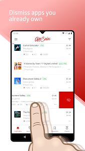screenshot of AppSales: Paid Apps Gone Free & On Sale version 10.6
