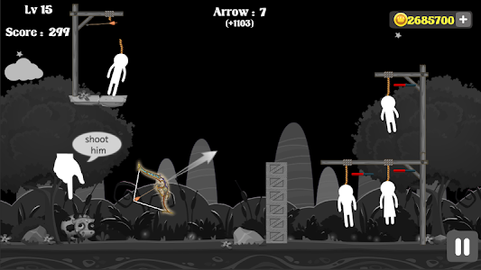 screenshot of Archer's bow.io version 1.6.9