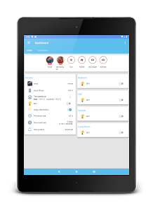screenshot of Ariela - Home Assistant Client version 1.3.3.2