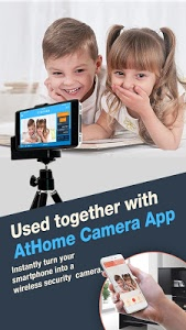screenshot of AtHome Video Streamer-turn phone into IP camera version 4.0.9