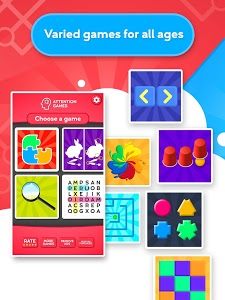 screenshot of Train your Brain - Attention Games version 1.3.0