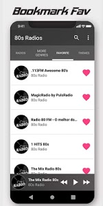screenshot of BEST Latin Radios version 5.2