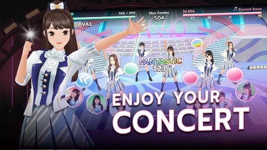 screenshot of BNK48 Oshi Festival version 1.1.5
