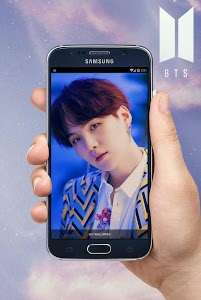 screenshot of BTS Wallpapers KPOP version 1.1