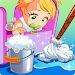 Doll House Cleaning Game – Princess Room