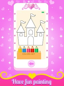 screenshot of Baby Princess Phone version 1.3.5