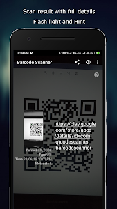 screenshot of Barcode Scanner version 1.45