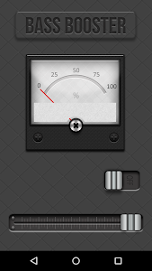 screenshot of Bass Booster version 1.5.13