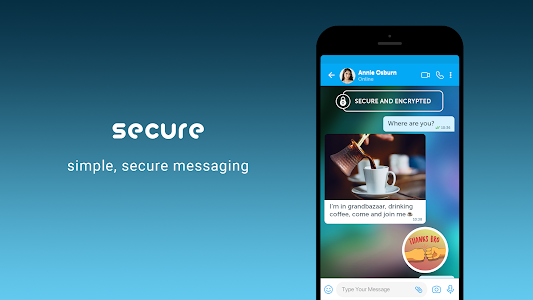 screenshot of BiP – Messaging, Voice and Video Calling version 3.61.14
