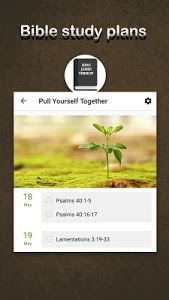 screenshot of Bible version 1.8.1