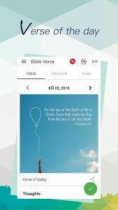 screenshot of Bible - Daily Verse&Devotional version 1.2.4