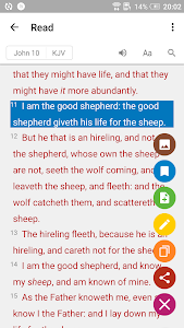 screenshot of Bible - Daily Verse & Devotion version 1.5.7