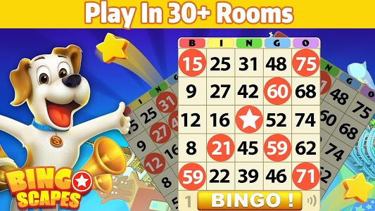 screenshot of Bingo Scapes - Lucky Bingo Game Free to Play version 1.1.3