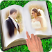 Book Dual Photo Frame
