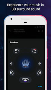 screenshot of Boom: Music Player with 3D Surround Sound and EQ version Varies with device