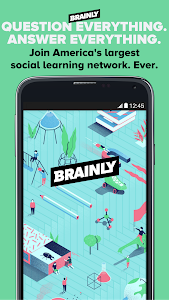 screenshot of Brainly: Study & Homework Help version 4.1.7.5