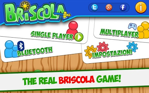 screenshot of Briscola version 3.7.3