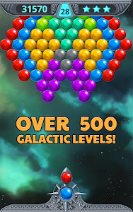 screenshot of Bubble Shooter Space version 2.3