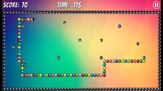 screenshot of Snake: Bubble World version 1.5