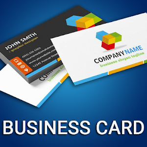 screenshot of Business Card Maker Free Visiting Card Maker photo version 5.5