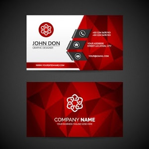 screenshot of Business Card Maker Free Visiting Card Maker photo version 7.0