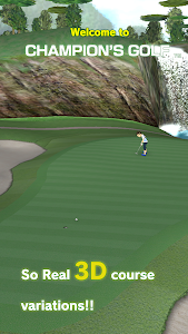 screenshot of CHAMPION'S GOLF.jp version 2.7.1