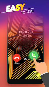 screenshot of Call Screen Themes - Caller Screen, Color Phone version 3.2
