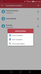 screenshot of Automatic Call Recorder version 36