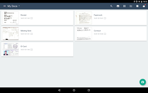 screenshot of CamScanner - Scanner to scan PDF version Varies with device