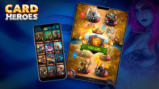 screenshot of Card Heroes - CCG game with online arena and RPG version 1.37.1738