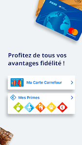 screenshot of Carrefour version 9.0.1