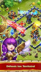 screenshot of Castle Clash: RPG War and Strategy FR version 1.5.72