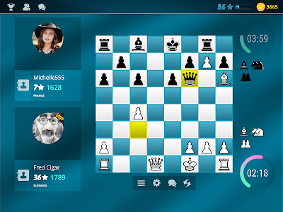 screenshot of Chess Online version 4.6.7